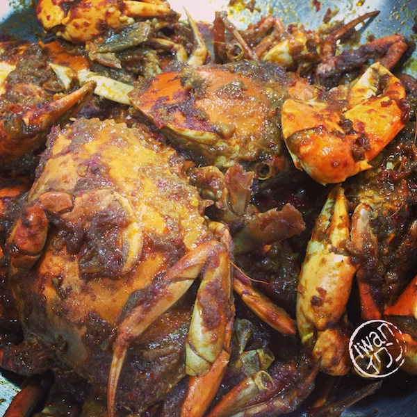 Kepiting Kare Cak Dul Surabaya