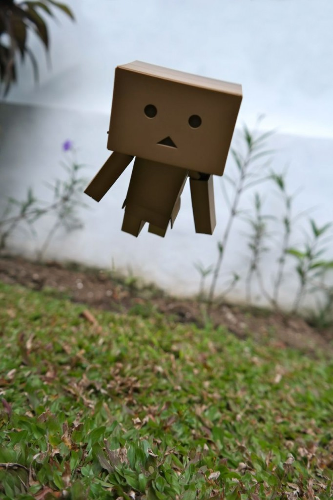 Flying Danbo. Photo by Junanto, taken with Samsung NX300