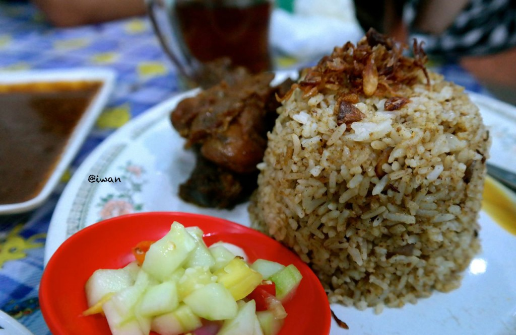 Nasi Briyani Kambing di Ampel / photo junanto by Samsung NX300