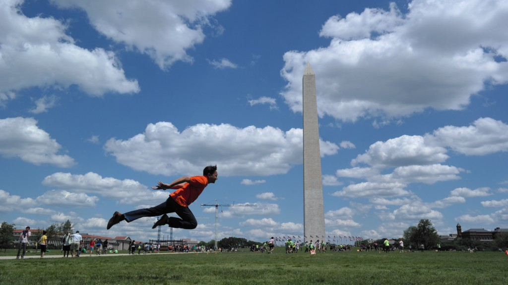 Levitation at Washington Monument