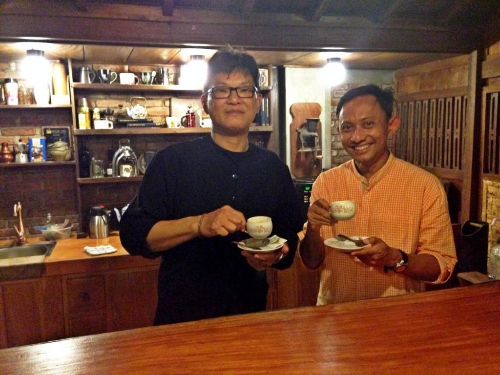 Once Brew, We Bro. Bersama Pak Setiawan Subekti di Sanggar Genjah Arum, Banyuwangi