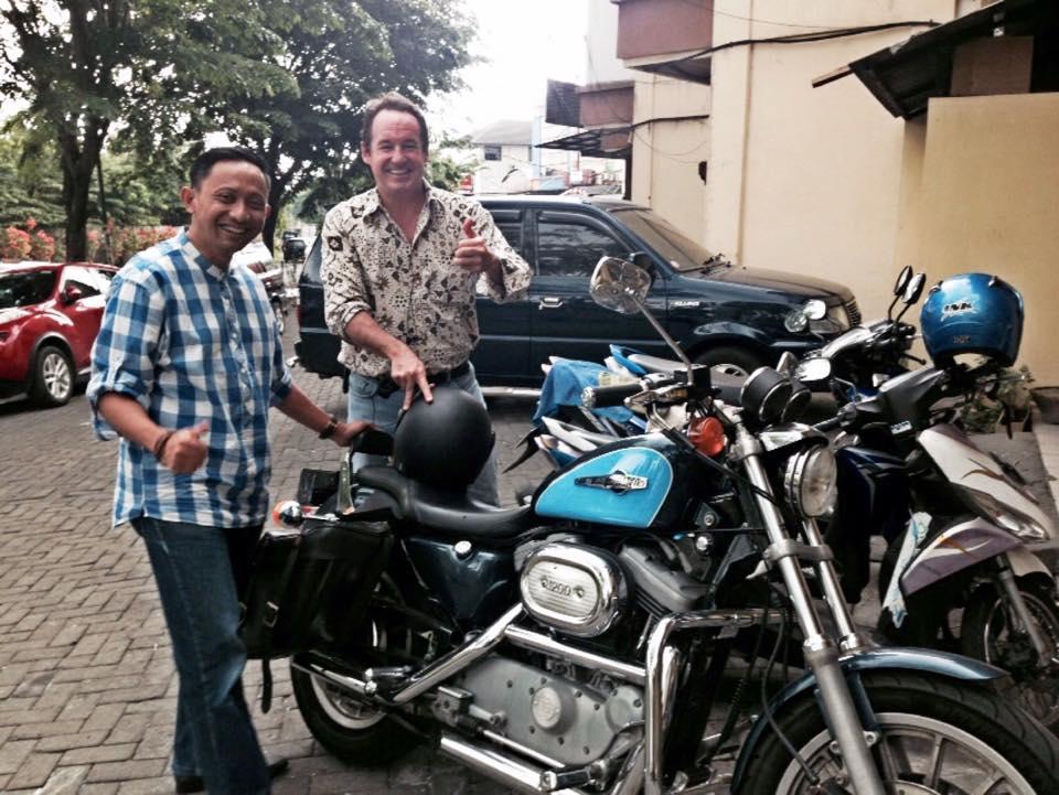 Pak Joaquin dan Motor Harley Davidsonnya