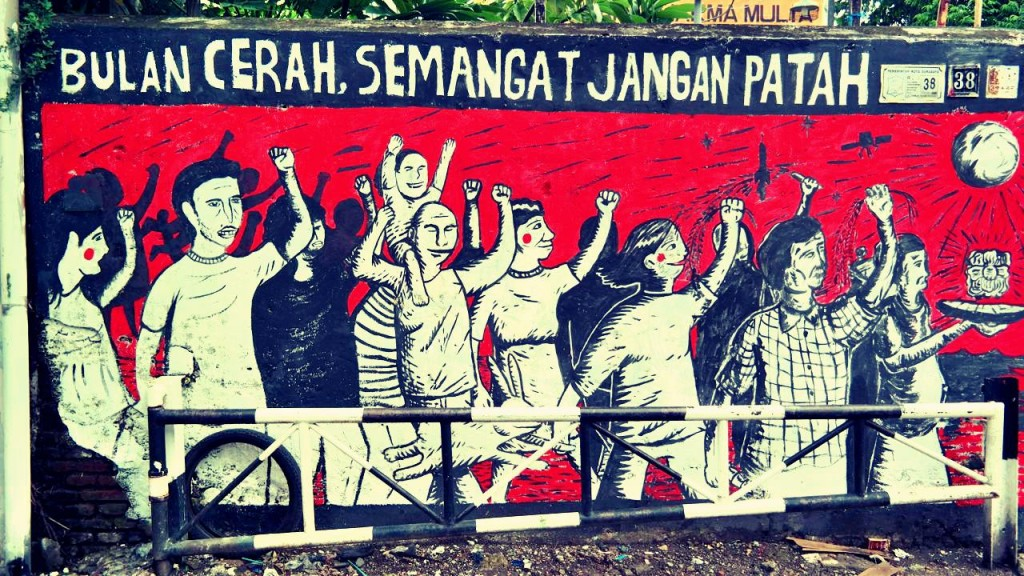 Mural di Tambak Bayan