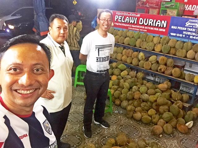 Next Journey setelah Kepala Kambing, Durian Medan