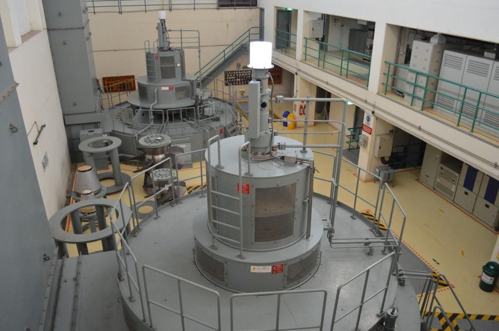 Turbin di PLTA Bili Bili Sulsel (foto koleksi pribadi JH)