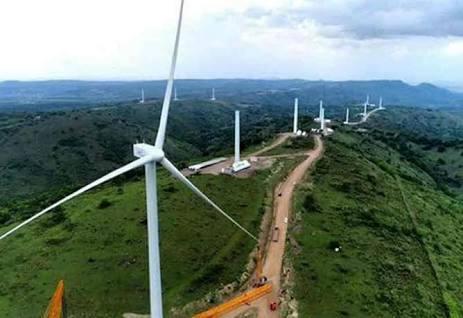 Kincir di PLTB, tenaga Bayu (angin) di Sidrap,SulSel - foto koleksi PT UPC Renewable Energy